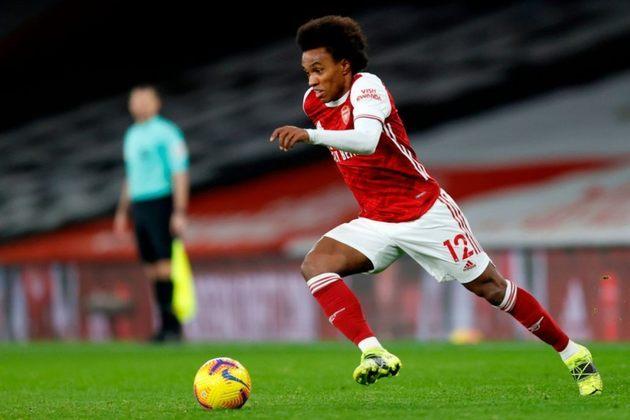 WILLIAN: O brasileiro trocou o Chelsea pelo Arsenal, time pelo qual joga atualmente