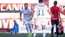 Palmeiras bate o Atlético-GO e se isola na liderança do Brasileirão