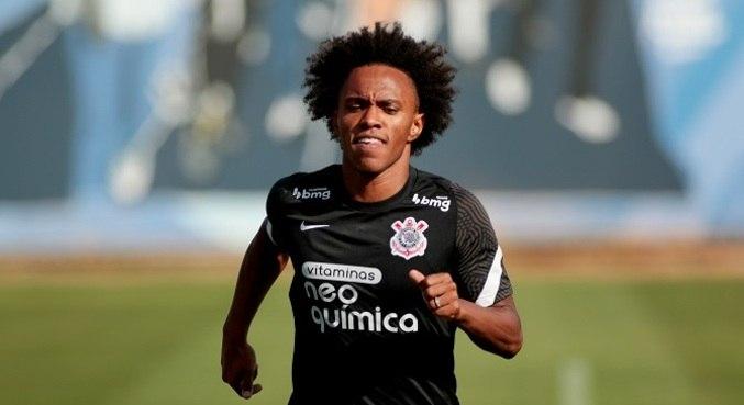Willian não irá a campo para a partida deste domingo, em Goiânia, contra o Atlético-GO