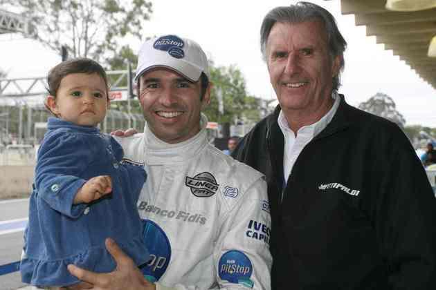 Wilson Fittipaldi Jr. tem 38 corridas na F1 nos anos 1970. O filho Christian participou de 43 GPS nos anos 1990, com 12 pontos somados