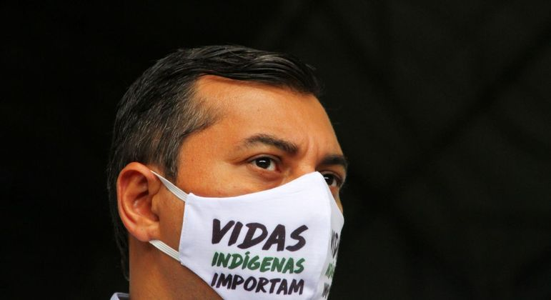 O governador do Amazonas, Wilson Lima (PSC) teve depoimento antencipado