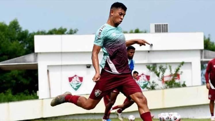 Wiris - meio-campista - 20 anos - contrato até 15/12/2021