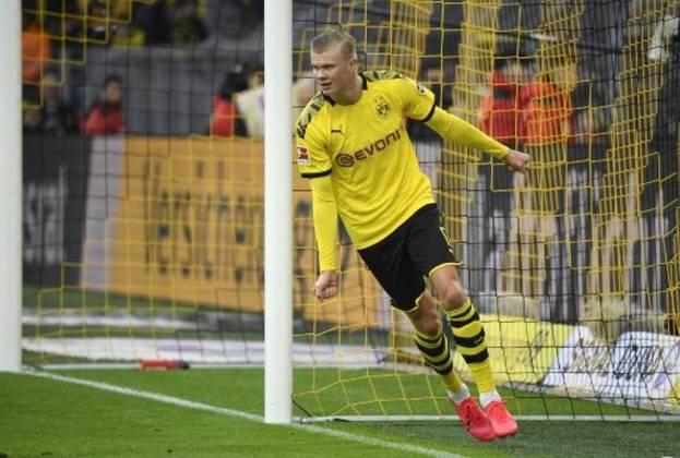 Wolfsburg x Borussia Dortmund /Ao vivo (sábado, 10h20, Fox Sports 2) - Após golear o arquirrival Schalke 04 na rodada passada (4 a 0) e seguir na vice-liderança do Alemão, com 54 pontos), o Dortmund visita o perigoso Wolfsburg (sexto, na zona da Liga Europa, com 39 pontos). O norueguês Haaland, de 19 anos, foi contratado no início do ano e em dez jogos fez dez gols para o Dortmund. Vai ter mais gol do menino?