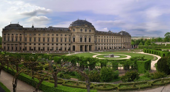 A Wuerzburger Residenz