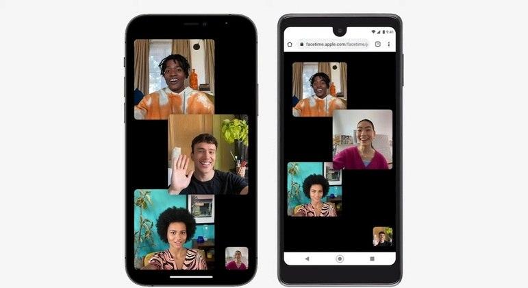 Recursos do FaceTime tornam a chamada de vídeo mais natural