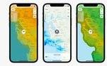 Para os usuários que utilizam o app de Tempo na bigtech, uma das maiores novidades é a visualização do clima através de mapas semelhantes aos que são usados para fazer a previsão diária nos telejornais