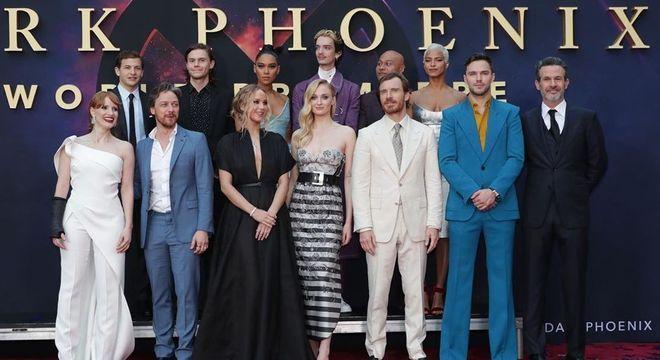 Elenco completo de 'X-Men: Fênix Negra'