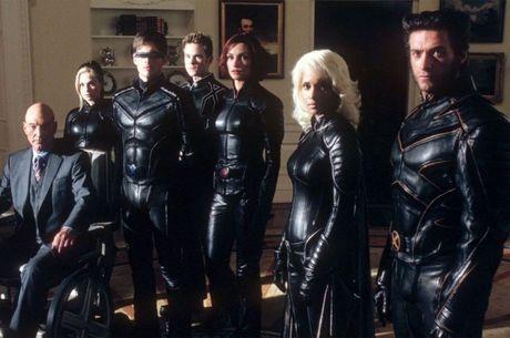 X-Men e suas roupas de couro preto