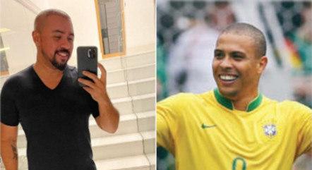 Xand Avião foi comparado com Ronaldo Fenômeno