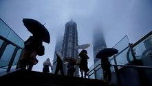 Voos são cancelados em Xangai pela chegada do tufão Chanthu