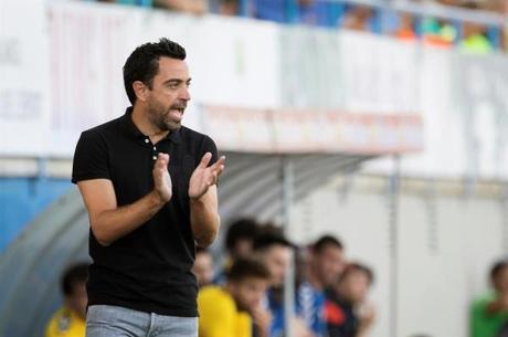 Xavi atualmente treina o Al-Sadd, do Qatar