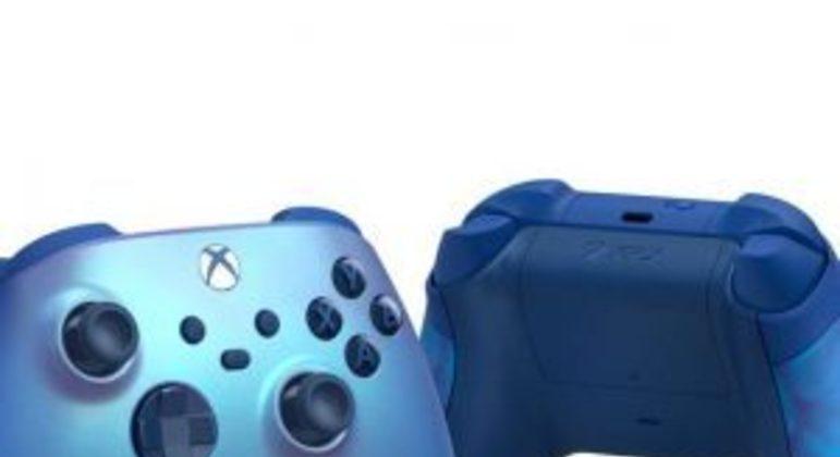 """Xbox ganha novo controle na cor """"Aqua Shift"""" brilhante"""