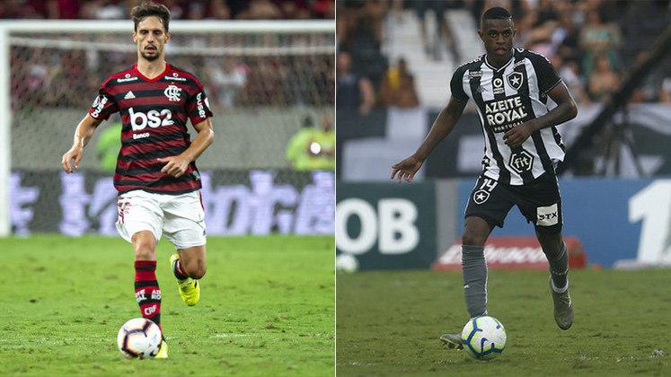 Xerife rubro-negro: Rodrigo Caio venceu a disputa com Marcelo Benevenuto e integra a seleção votada pelo LANCE!.