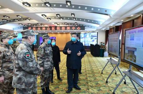 Xi visita Wuhan, cidade epicentro do surto de coronavírus
