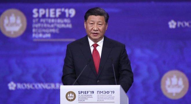 Xi Jinping é presidente da China e de Hong Kong