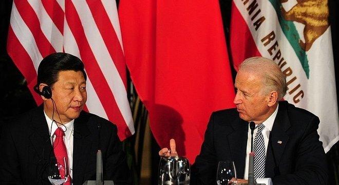 """O presidente eleito propôs uma coalizão internacional com outras democracias que a China """"não pode ignorar"""""""