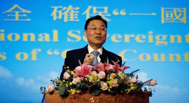 O vice-ministro das Relações Exteriores, Xie Feng