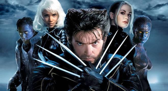 Wolverine e os X-Men em foto do filme que completa 20 anos