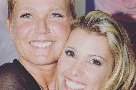 Xuxa e Roberta Cipriani: paquita teve olhos atingidos