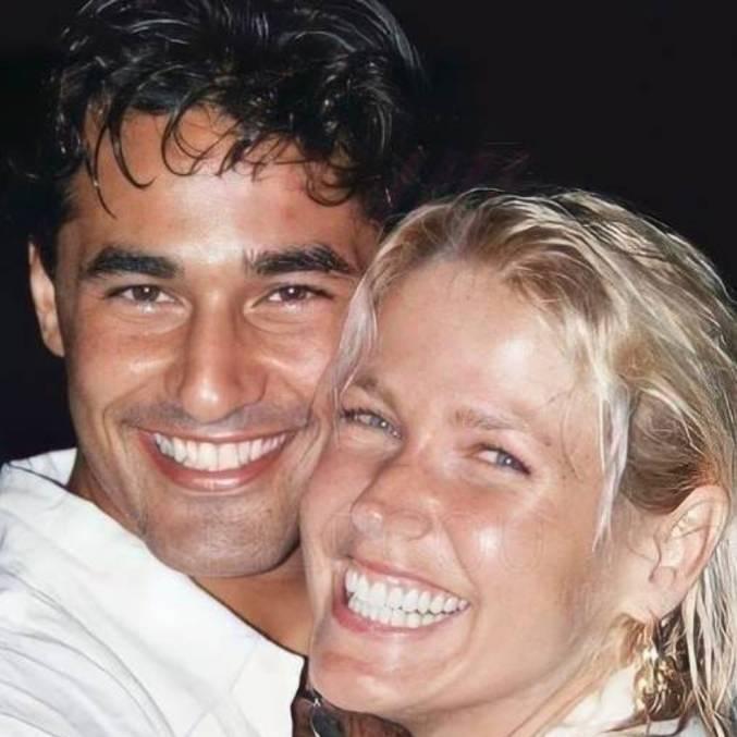 Luciano e Xuxa são pais de Sasha Meneghel