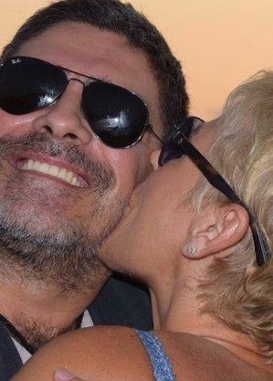 Xuxa fez declaração apaixonada a Junno nas redes sociais