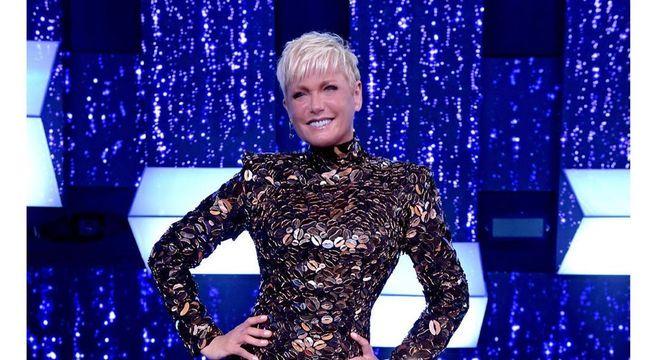 Xuxa nos bastidores do especial Canta Comigo All Stars