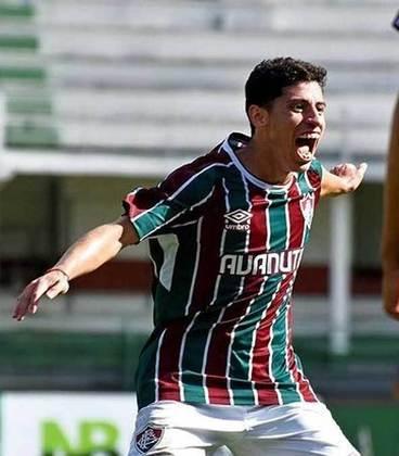 Yago - 20 anos - atacante - contrato com o Fluminense até 31/12/2022