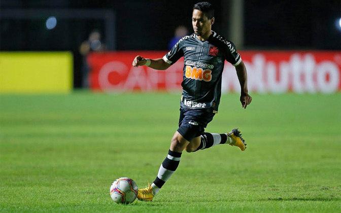 YAGO PIKACHU- Vasco (C$ 9,01) - Um dos maiores favoritos da rodada, o Vasco tem potencial para manter o saldo de gols contra o Coritiba, mesmo fora de casa. Pikachu é um lateral ofensivo e só negativou uma vez no Brasileirão, tornando-se assim uma das melhores opções para a lateral.