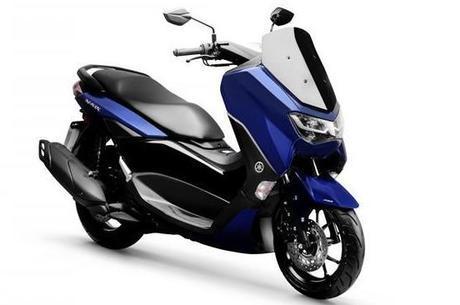 Nova Yamaha NMAX 160 ABS na cor azul