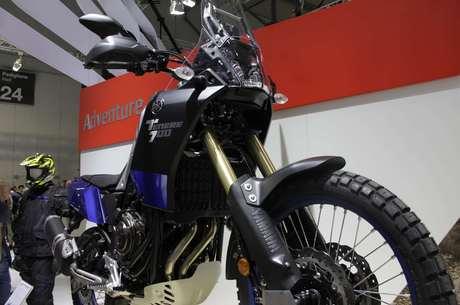 Nova Ténéré parou estande da Yamaha na Itália
