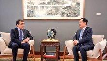 Após fala de Guedes, chanceler conversa com embaixador da China