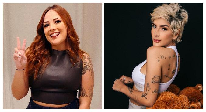 Yasmin Alves acusou Lary Bottino de 'roubar' bota de luxo dela
