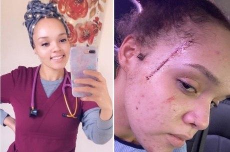 Yasmine  denunciou o caso nas redes sociais