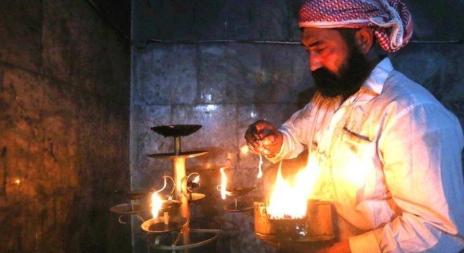 Segundo as regras da religião, não é possível se converter em yazidi