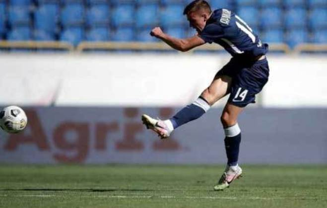 Yegor Yarmolyuk (Ucrânia) - Clube: Dnipro-1 (Ucrânia) - Posição: Meio-campista