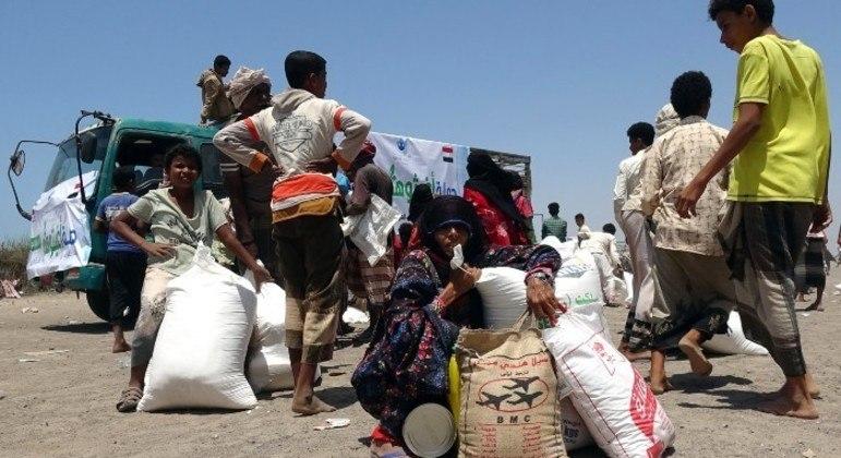 Insegurança alimentar afeta 16,2 milhões de pessoas no Iêmen