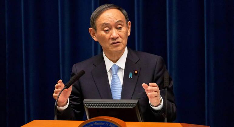 Primeiro-ministro japonês, Yoshihide Suga, confirma novo estado de emergência na região de Tóquio.