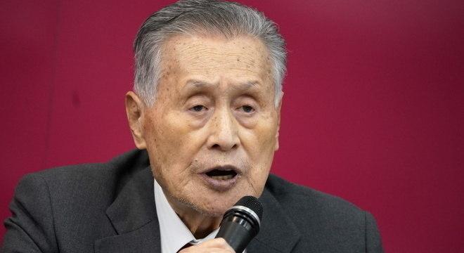 Yoshiro Mori, presidente do Comitê, não acredita nos Jogos sem vacina