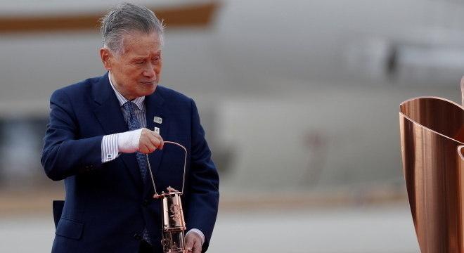 Yoshiro Mori admitiu que Jogos Olímpicos podem ser cancelados