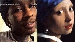 Vida de rapper é comparada a grandes obras de arte e vira hit ()