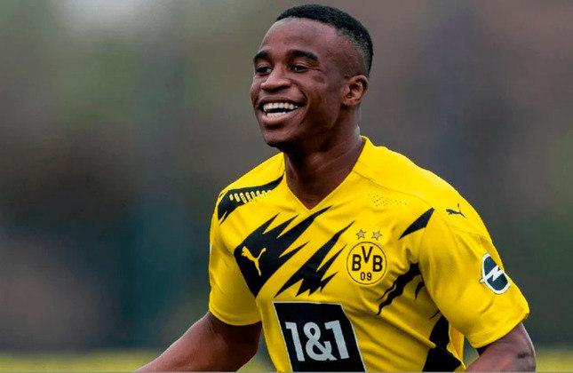 Youssoufa Moukoko (Alemanha) - Clube: Borussia Dortmund - Posição: Atacante
