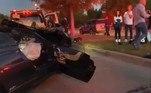 O carro em questão era umPagani Huayra Roadster, descrito por alguns como 'o conversível mais incrível da história'
