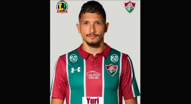 Yuri - 4,5 - O volante teve mais liberdade para jogar no campo ofensivo e ajudou Allan na transição entre o sistema defensivo e o ataque. Foi substituído por Marcos Paulo no segundo tempo.