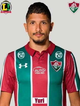 Yuri Lima - 6,5 - Foi importante na marcação do meio-campo tricolor, auxiliando os zagueiros na marcação de Guerrero. Ajudou Dodi na transição de bola entre o sistema defensivo e os jogadores de frente.