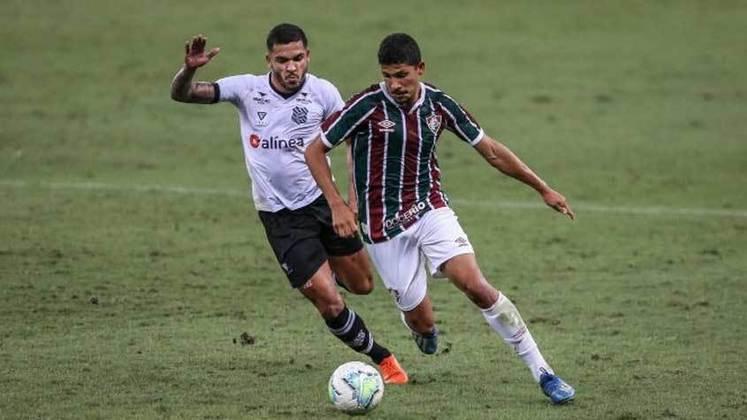 Yuri Lima - meio-campista - 26 anos - contrato até 31/12/2022