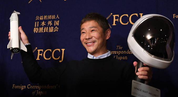 Magnata japonês oferece vagas para viagem à Lua em 2023