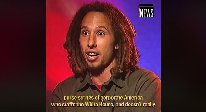 Em 1999, líder do Rage Against the Machine falava sobre o poder da música na política