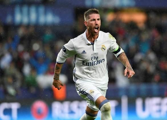 Zagueiro e capitão do Real Madrid, Sergio Ramos veste a camisa Merengue desde 2005