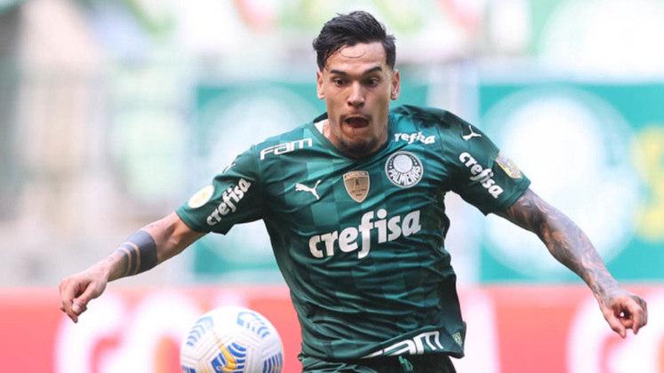 Zagueiro: Gustavo Gómez (Palmeiras) - 11 votos.