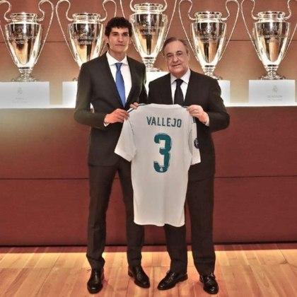 Zagueiro: Jesús Vallejo - Idade: 24 anos - Clube: Real Madrid - Situação na equipe olímpica: reserva - Valor de mercado segundo o Transfermarkt: 5 milhões de euros (aproximadamente 30,74 milhões de reais)